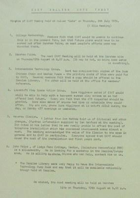19760708 EAAT meeting