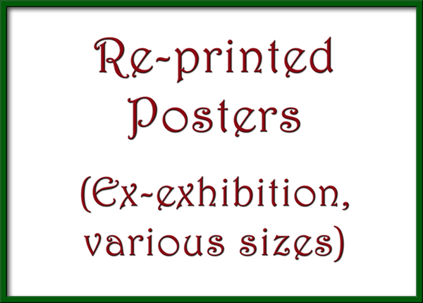 Re-printed Posters (Ex exhibition)