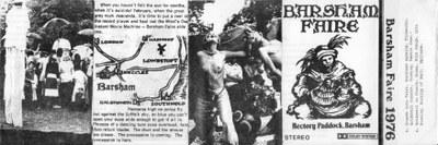 Barsham 1976 audio tape