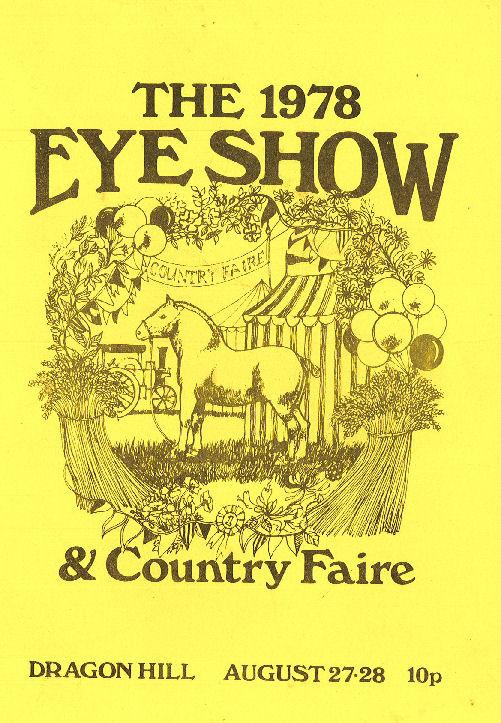 Eye Show Programme cover 78