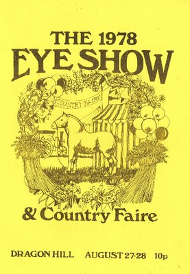 Eye Show Programme cover 78