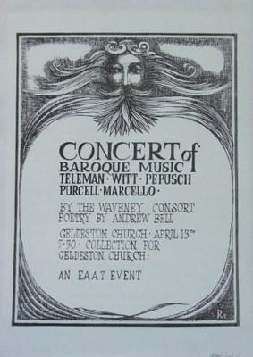 1973 Baroque music concert