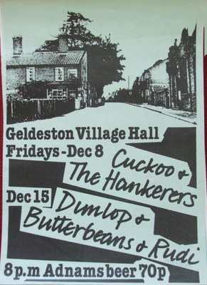 1978 Geldeston gigs